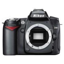 尼康 D90 单反机身(中高级单反 1230万像素 3英寸液晶屏 连拍4.5张/秒)产品图片主图