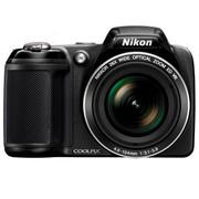 尼康 L320 数码相机 黑色(1614万像素 3英寸液晶屏 26倍光学变焦 22.5mm广角)