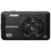 奥林巴斯 D-745 数码相机 黑色(1400万像素 3英寸液晶屏 5倍光学变焦 26mm广角)