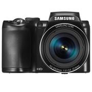 三星 WB110 数码相机 黑色(2020万像素 3英寸液晶屏 26倍光学变焦 22.3m广角)