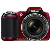尼康 L810 数码相机 红色(1614万像素 3英寸液晶屏 26倍光变 22.5mm广角)