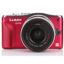 松下 GF6 微单套机 红色(G Vario 14-42mm F3.5-5.6 II ASPH Mega O.I.S. 镜头)产品图片主图