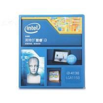 英特尔 酷睿双核i3-4130 Haswell全新架构盒装CPU (LGA1150/3.4GHz/3M三级缓存/54W/22纳米)产品图片主图