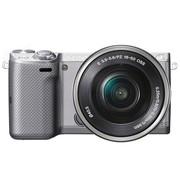 索尼 NEX-5T 微单机身 银色(1610万像素 3英寸触摸旋转屏 连拍10张/秒)