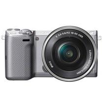 索尼 NEX-5T 微单机身 银色(1610万像素 3英寸触摸旋转屏 连拍10张/秒)产品图片主图
