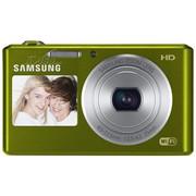 三星 DV150F 数码相机 绿色(1620万像素 智能双屏 5倍光学变焦 25mm广角 WiFi传输)
