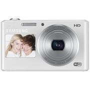 三星 DV150F 数码相机 白色(1620万像素 智能双屏 5倍光学变焦 25mm广角 WiFi传输)