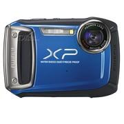 富士 XP100 数码相机 蓝色(1440万像素 5倍光变 28mm广角 2.7英寸液晶屏 四防)