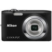 尼康 S2600 数码相机 黑色(1400万像素 2.7英寸液晶屏 5倍光学变焦 26mm广角)