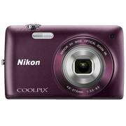 尼康 S4300 数码相机 紫色(1602万像素 3英寸液晶触屏 6倍光学变焦 26mm广角)