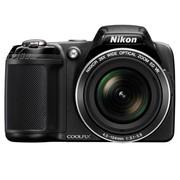 尼康 L810 数码相机 黑色(1614万像素 3英寸液晶屏 26倍光变 22.5mm广角)