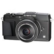奥林巴斯 E-P5 单电套机 黑色(M.ZUIKO DIGITAL 17mm F1.8 镜头)