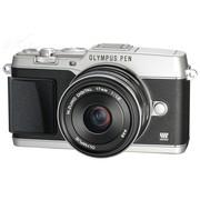 奥林巴斯 E-P5 单电套机 银色(M.ZUIKO DIGITAL 17mm F1.8 镜头)