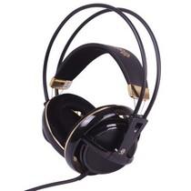 赛睿 西伯利亚v1 全尺寸耳机 黑金色产品图片主图
