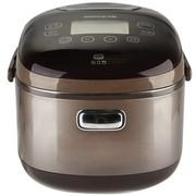 九阳 JYF-I40FZ01 IH系列电饭煲 IH电磁环绕加热 匀火钢釜 巧克力色 4L 24小时预约可制蛋糕