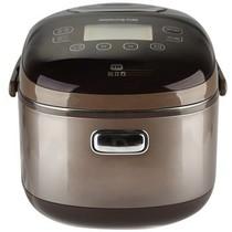 九阳 JYF-I40FZ01 IH系列电饭煲 IH电磁环绕加热 匀火钢釜 巧克力色 4L 24小时预约可制蛋糕产品图片主图