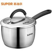 苏泊尔 SUPOR亮彩不锈钢奶锅ST16A1