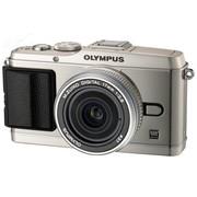 奥林巴斯 E-P3 微单套机 银色(M.ZUIKO DIGITAL 17mm f/2.8 镜头)