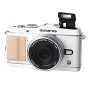 奥林巴斯 E-P3 微单套机 白色(M.ZUIKO DIGITAL 17mm f/2.8 镜头)