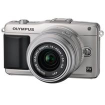 奥林巴斯 E-PM2 微单套机 银色(14-42mm II R,40-150mm)产品图片主图