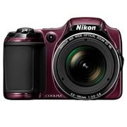 尼康 L820 数码相机 红色(1605万像素 3英寸液晶屏 30倍光学变焦 22.5mm广角)