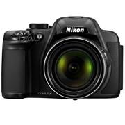 尼康 P520 数码相机 黑色(1808万像素 3英寸液晶屏 42倍光学变焦 24mm广角)