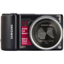 三星 WB200F 数码相机 黑色(1420万像素 3英寸触摸屏 18倍光学变焦 24mm广角)产品图片主图