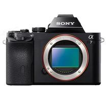 索尼 A7 微单机身 黑色(2430万像素 3英寸液晶屏 连拍5张/秒)产品图片主图