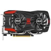 华硕 圣骑士 GTX760-DC2OC-2GD5 1072MHz/6008MHz 2GB/256bit DDR5 PCI-E 3.0 显卡