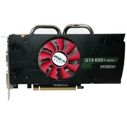 盈通 GTX650Ti BOOST-2048GD5 PA 游戏高手 980/6008MHz 2G/192bit GDDR5显卡