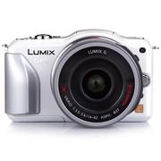 松下 GF5 微单套机 白色(LUMIX G X VARIO PZ 14-42mm f/3.5-5.6 ASPH.POWER O.I.S. 镜头)