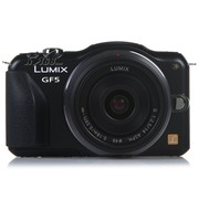 松下 GF5 微单套机 黑色(Lumix G 14mm f/2.5 ASPH 镜头)