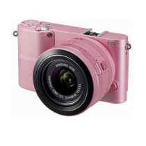 三星 NX1000 微单套机 粉色(i-Fn 20-50mm f/3.5-5.6 ED)产品图片主图