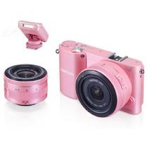 三星 NX1000 微单套机 粉色(20-50mm,16mm)产品图片主图