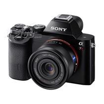 索尼 A7 微单套机 黑色(Sonnar T* FE 35mm F2.8 ZA 镜头)产品图片主图