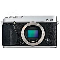 富士 X-E2 单电机身 银色(1630万像素 3英寸液晶屏 连拍7张/秒)产品图片主图