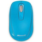 微软 无线便携鼠标1000 天青蓝