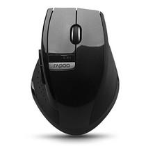 雷柏 M350 无线光学鼠标 黑色产品图片主图