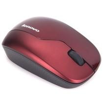 联想 N3902 无线光学鼠标(深红)产品图片主图