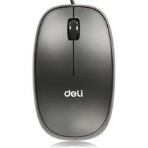 得力 3715 USB有线鼠标 实用便捷 经典雅黑产品图片主图