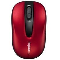 雷柏 1075P 无线光学鼠标 红色产品图片主图