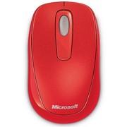 微软 无线便携鼠标1000 胭脂红