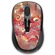微软 无线蓝影便携鼠标3500 蛇年纪念版