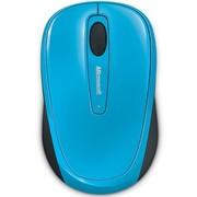 微软 无线蓝影便携鼠标3500 天青蓝