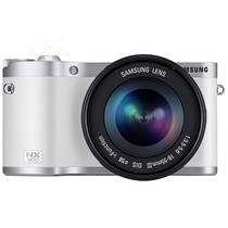 三星 NX300 微单套机 白色(18-55mm F3.5-5.6 OIS III)产品图片主图