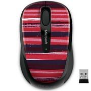 微软 无线蓝影便携鼠标3500 丹绯靛紫