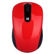 微软 Sculpt无线便携鼠标火焰红