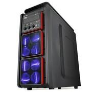 爱国者 天秤座S6 中塔游戏机箱 黑色(USB3.0/电源下置/背部走线/标配三个静音风扇)