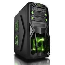 爱国者 黑暗骑士D8 中塔游戏机箱 黑色(标配一个12CM LED静音风扇/USB3.0/免工具设计)产品图片主图
