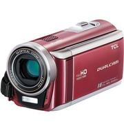 TCL D828FHD 全高清数码摄像机(500万像素 3英寸触摸屏 5倍光学变焦 陀螺仪防抖 拍摄可暂停)